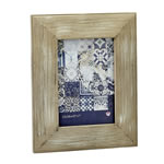 Distressed Wood Wide Border 5x7 Picture Frame