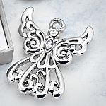 Guardian Angel Metal Pin
