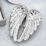 Guardian Angel Wings Metal Pin