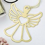 Book Lovers Collection Gold Guardian Angel Bookmark