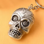 Sugar Skull Key Chain from our Day of the Dead Collection