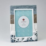 Beach Picture Frame 5 x 7 with Shells - Vertical