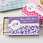 Personalized Matchbox Baby Shower Favors (Pack of 50)