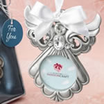 Angel Ornament with Picture Frame