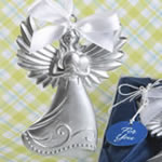 Guardian Angel Themed Ornament Hanging Angel with Heart