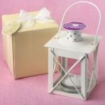 Personalized Expressions Love Lights the Way Metal Luminous Lanterns (Ivory)