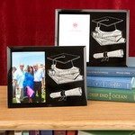 Graduation Themed Glass Frames