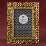 Magnificent Gold Lattice 4 x 6 Frame