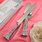 Eiffel Tower Design Cake Set