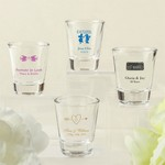 Design Your Own Collection Screen Printed Shot Glass