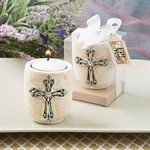 Cross Design Candle Tea Light Holder