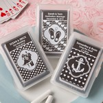 Personalized Chalk Board Collection Playing Card Favors