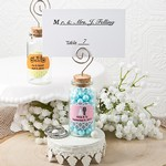 Personalized Glass Jar with Place Card Holder
