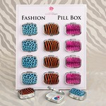 Animal Print Pillboxes