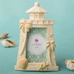 Beach Themed Light House Design Placecard Frame