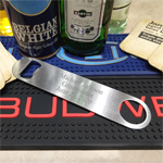Personalized Stainless Steel Paddle Shape Bartender Bottle Opener