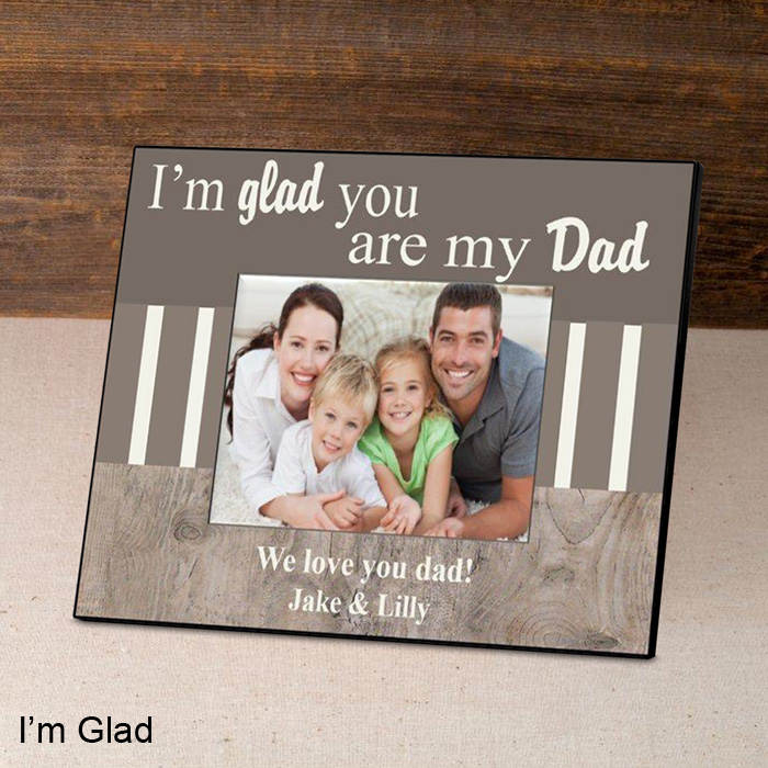 Personalized Fathers Day Picture Frame Famous Favors