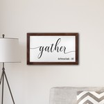 Personalized Framed Gather Modern Farmhouse 14