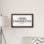 Personalized Framed Family Farmhouse Modern Farmhouse 14
