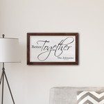 Personalized Framed Better Together Modern Farmhouse 14