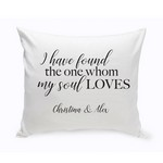 Personalized Song of Solomon Throw Pillow