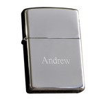 Personalized Zippo High Polish Chrome Lighter