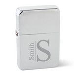 Personalized Polished Chrome Stainless Steel Lighter