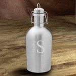 Monogrammed Insulated Stainless Steel Beer Growler