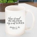 Personalized Song of Solomon Coffee Mug