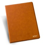 Personalized Rawhide Portfolio with Notepad
