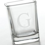 Personalized Aris Square Shot Glass