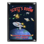 Personalized Kid's Room Signs (Available in 19 Designs)