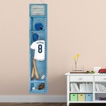 Personalized Baseball Locker Height Chart