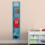 Personalized Basketball Locker Growth Chart