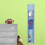 Personalized Football Locker Height Chart