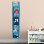 Personalized Lacrosse Locker Growth Chart