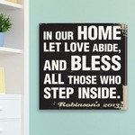 Antique Style Personalized Prayer Canvas Print