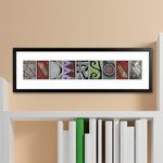 Architectural Elements II Color Family Name Print