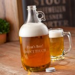 Personalized Brewery Beer Growler