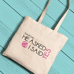 Personalized Brides Perfect Canvas Tote