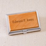 Personalized Business Card Cases
