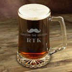 Personalized 25 oz. Mustache Mug