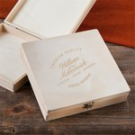 Personalized Wooden Keepsake or Cigar Box