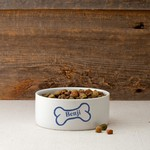 Personalized Colorful Classic Small Dog Bowls