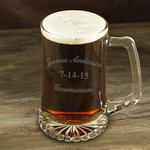 Personalized Groomsman 25 oz Mug