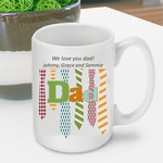 Personalized Father's Day Coffee Mug