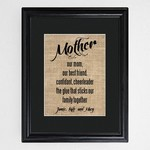 Personalized Our Mother Framed Print