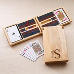 Personalized Monogrammed Cribbage Game Kit