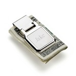 Personalized Dalton Folding Money Clip