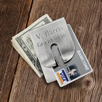 Personalized Money Clips & Wallets